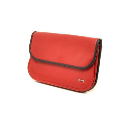 Berba Soft 001-165 Ladies Wallet Red-Black