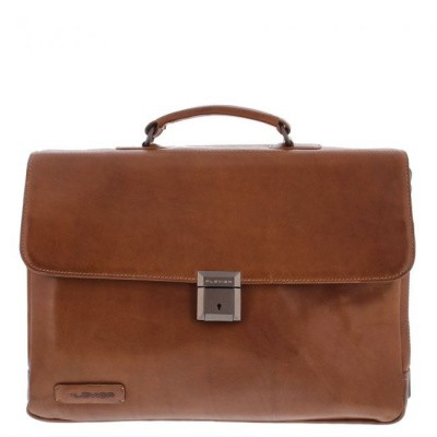 Business Schoudertas Plevier 853-2 Cognac