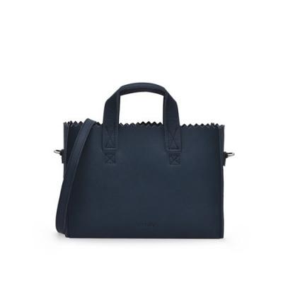 Mini Handtas Myomy MY PAPER BAG 1076 Hunter Blue