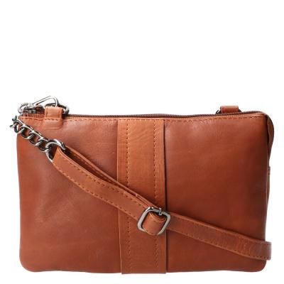 Schoudertas Leather Design HB 531 Cognac