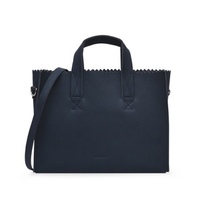 Hand/Schoudertas Myomy My Paper Bag Hunter Blue