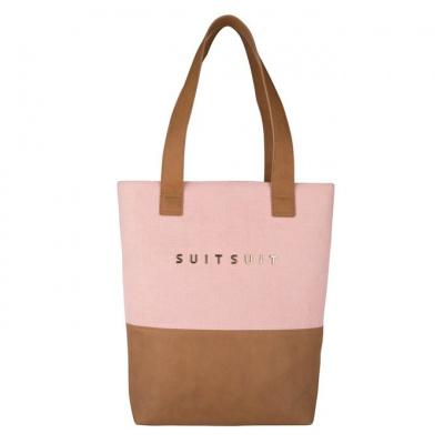 Foto van Shopper SUITSUIT Fab Seventies Bag duo Coral Cloud