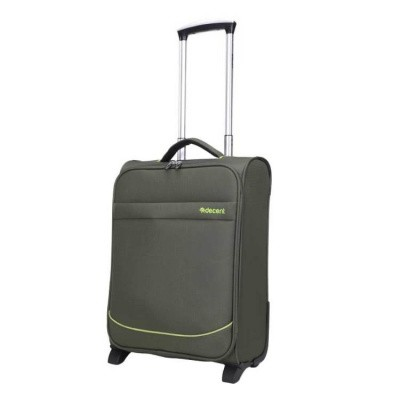 Foto van Handbagage koffer Decent Super-Light Trolley 50 Olive Green