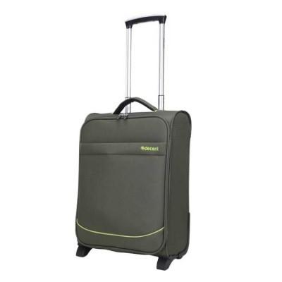 Handbagage koffer Decent Super-Light Trolley 50 Olive Green