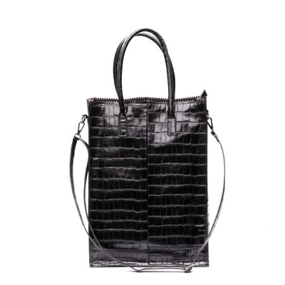 Foto van Zebra natural bag rosa xl box 3 Black