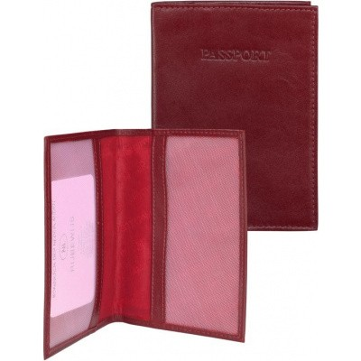 Paspoort-etui dR Amsterdam 15606 rood