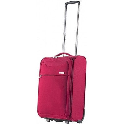Foto van CarryOn Trolley 55cm Ultra light 2wheels AIR Rood