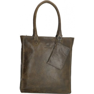 Shopper MicMacgbags Golden Gate 17352 Olijf