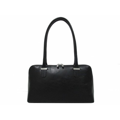 Claudio Ferrici Classico Shoulder Bag black