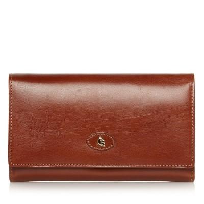 Foto van Castelijn & Beerens, 42 2402 Dames portemonnee beugel Cognac