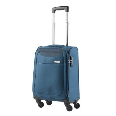 CarryOn Trolley 55cm AIR Steel Blue
