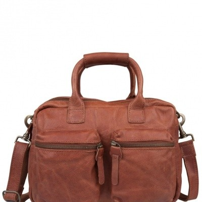 Foto van Cowboysbag The Little Bag Cognac