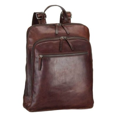 Foto van Backpack Leonhard Heyden Roma Business brown