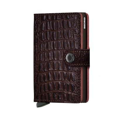 Foto van Miniwallet Nile Brown