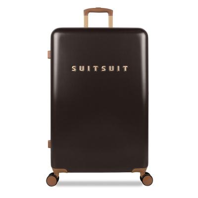Foto van Koffer SuitSuit Fab Seventies 76 cm Espresso Black
