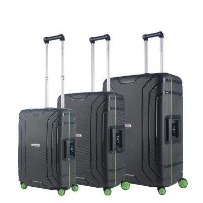 Foto van CarryOn Trolleyset 3pcs Steward Dark Grey