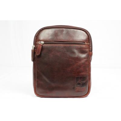 Old School Cross-overbag Arpello 6.1011 Brandy