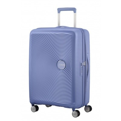 Foto van American tourister Soundbox SPINNER 67/24 Denim Blue