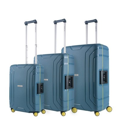 Foto van CarryOn Trolleyset 3pcs Steward Ice Blue