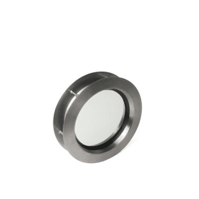 Venster rond 240mm RVS (helder glas)