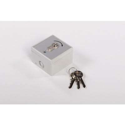 Foto van Sleutelschakelaar incl. 3 sleutels (opbouw)