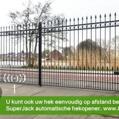 Foto van Vleugelhekopener type SuperJack SJSW201