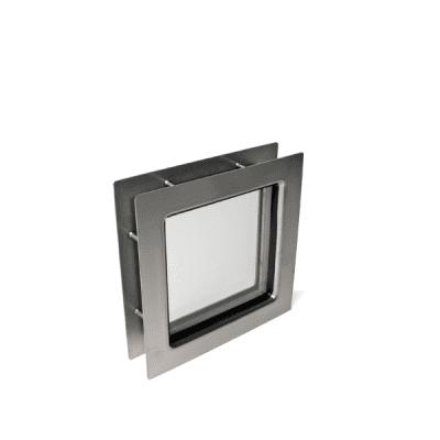 Foto van Venster vierkant 230 x 230 RVS (helder acrylaat)