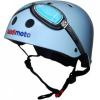 Afbeelding van Kiddimoto helm Blue Goggle Small Array