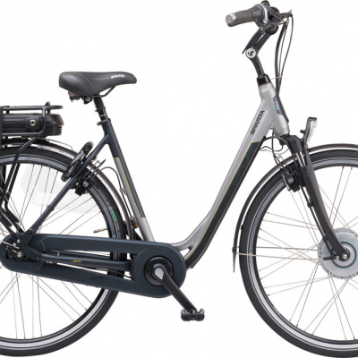 Foto van Sparta F8e Incl. 500wh, Pebblegrey/blackgreen Matte