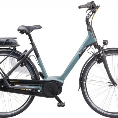 Sparta M7b incl. 300wh, Lightblue/Black