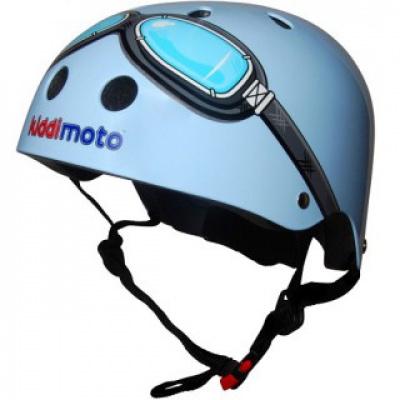 Kiddimoto helm Blue Goggle Small Array