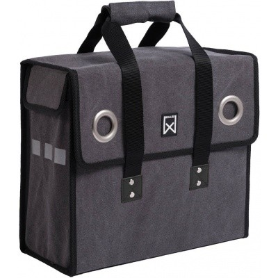 Willex Canvas Shopper Grijs