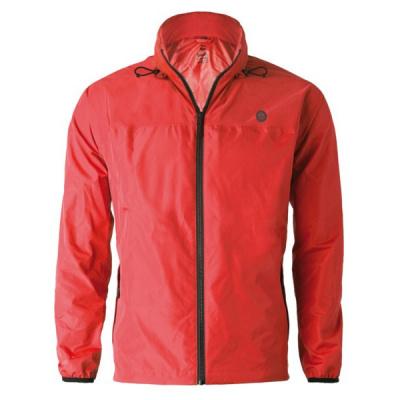 Agu go rain jacket essential red l