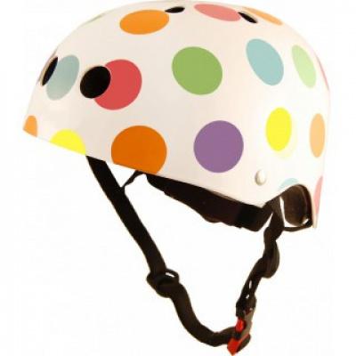 Kiddimoto helm Pastel Dotty Medium Array