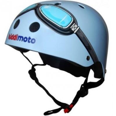 Foto van kiddimoto helm Blue Medium blauw/zwart