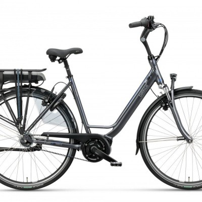 Batavus Wayz E-go® Active Plus Exclusive d, Zilvergrijs