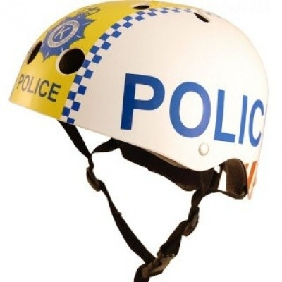 Kiddimoto helm Police Small Array