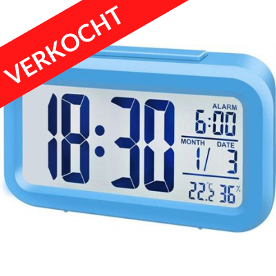 Foto van 300 x Bresser MyTime Alarm Clock Radio Blauw