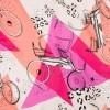 Afbeelding van POM AMSTERDAM CARRIAGES PINK - SJAAL