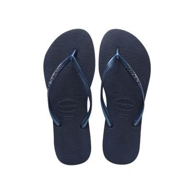 HAVAIANAS SLIM NAVY BLUE - SLIPPER