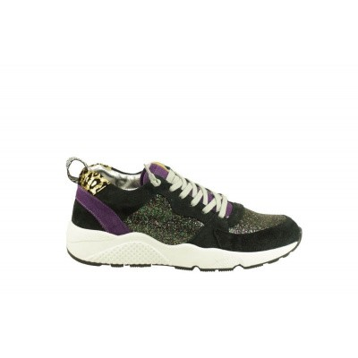 P448 DAMES SNEAKERS ZWART ALEX GODOT