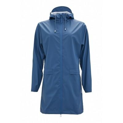 RAINS W COAT FADED BLUE
