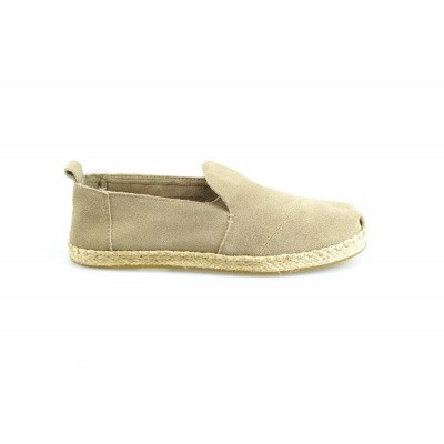 TOMS DAMES ESPADRILLES TAUPE DECONSTRUCTED ALPARGATA ROPE