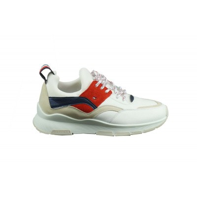 TOMMY HILFIGER DAMES SNEAKERS WIT LIFESTYLE