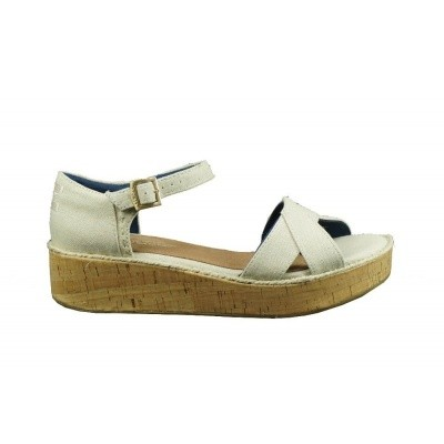 TOMS HARPER NATURAL HEMP - SANDAAL