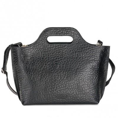 MYOMY MY CARRY BAG HANDBAG BUBBLE BLACK - TAS