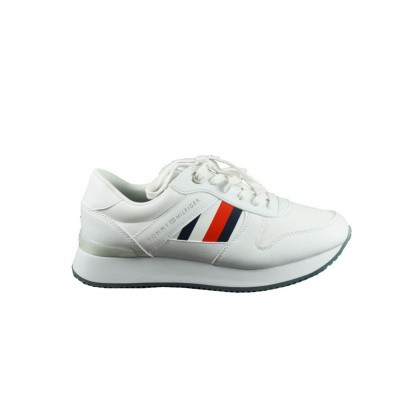 TOMMY HILFIGER DAMES SNEAKERS WIT CORPORATE CITY SNEAKER