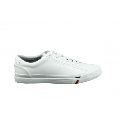 Foto van TOMMY HILFIGER HEREN SNEAKERS WIT CORPORATE SNEAKER