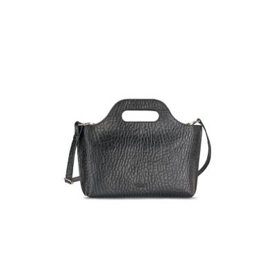 Foto van MYOMY MY CARRY BAG MINI BUBBLE BLACK - TAS