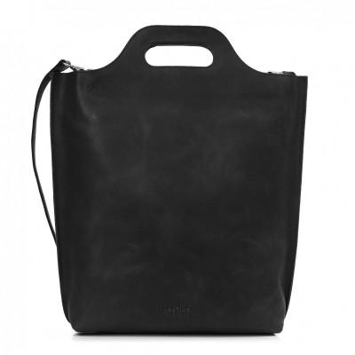 Foto van MYOMY MY CARRY BAG SHOPPER HUNTER OFF-BLACK - TAS